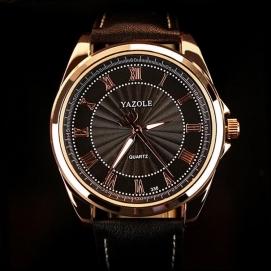 Reloj de Pulsera Yazole - Negro (Dial Negro)