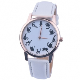 Reloj de Pulsera Gatos -