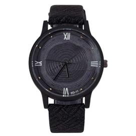 Reloj de Pulsera Tronco - Negro