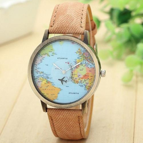Reloj de Pulsera Mini Mundo -