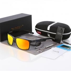 Gafas de Sol Polarizadas BARCUR - Negro (Lentes Amarillas)