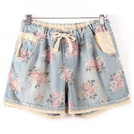Shorts Vaqueros Estampados