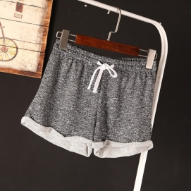 Shorts Deportivos Grises Oscuros