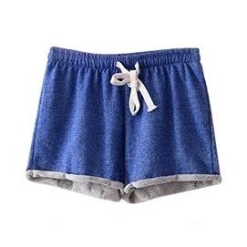 Shorts Deportivos Azules
