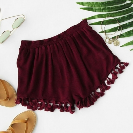 Shorts Burdeos