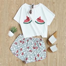Conjunto Camiseta + Shorts Sandías