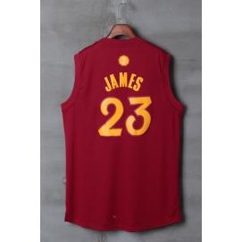 Camiseta Niños Navidad 2016 Cleveland Cavaliers James