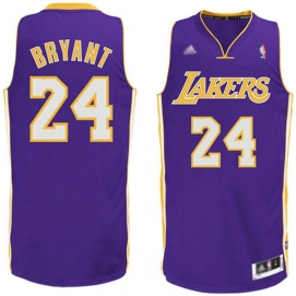 Camiseta Los Angeles Lakers Bryant 2ª Equipación