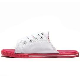 Zapatillas CV Allstars Slip Blanco y Rojo