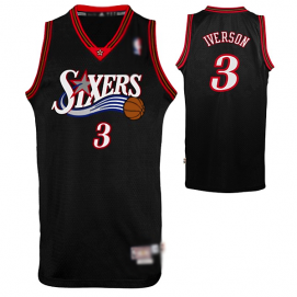 Camiseta Philadelphia 76ers Iverson 3ª Equipación