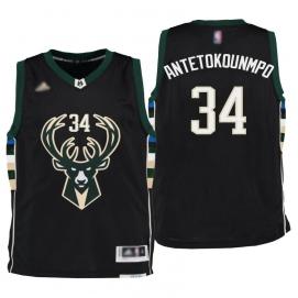 Camiseta Niños Milwaukee Bucks Antetokounmpo 3ª Equipación