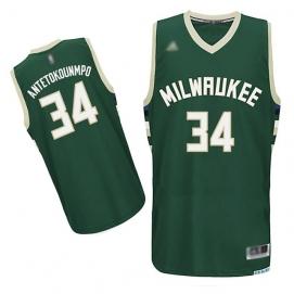 Camiseta Niños Milwaukee Bucks Antetokounmpo 2ª Equipación