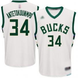 Camiseta Niños Milwaukee Bucks Antetokounmpo 1ª Equipación