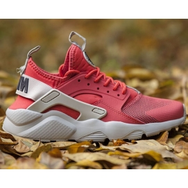 Zapatillas NK Air Huarache Ultra Coral y Gris