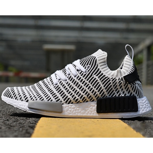 AD NMD Flyknit Black and White