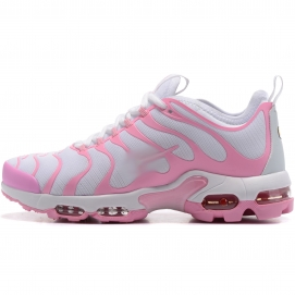 Zapatillas NK Air max TN Plus Blanco y Rosa