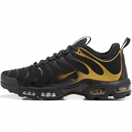 Zapatillas NK Air max TN Plus Negro y Dorado