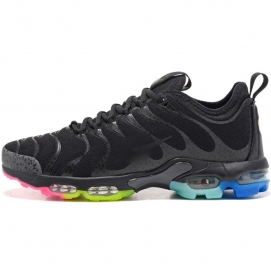 Zapatillas NK Air max TN Plus Negro (Suela Multicolor)