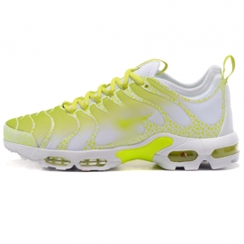 Zapatillas NK Air max TN Plus Amarillo y Blanco (Puntos)