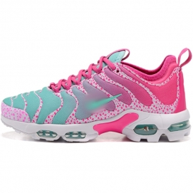 Zapatillas NK Air max TN Plus Turquesa y Rosa (Puntos)