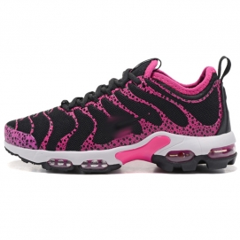 Zapatillas NK Air max TN Plus Rosa y Negro (Puntos)