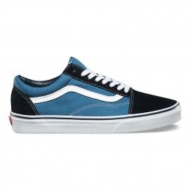 Zapatillas VNS Old Skool Azul Marino y Azul
