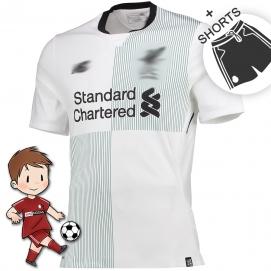 NB Liverpool FC 2ª Equipación Niños 2017-2018