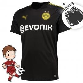 PMA Borussia Dortmund 2ª Equipación Niños 2017-2018