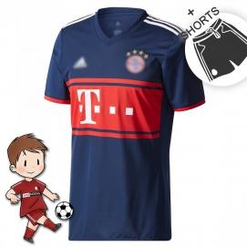 AD Bayern de Munich 2ª Equipación Niños 2017-2018