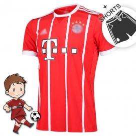AD Bayern de Munich 1ª Equipación Niños 2017-2018