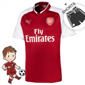 PMA Arsenal FC 1ª Equipación Niños 2017-2018