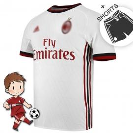 AD AC Milán 2ª Equipación Niños 2017-2018