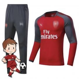 Chándal para Niños PMA Arsenal FC Gris y Rojo 2017-2018