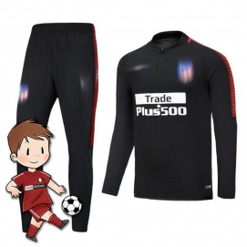 Chándal para Niños NK Atlético Madrid Negro 2017-2018