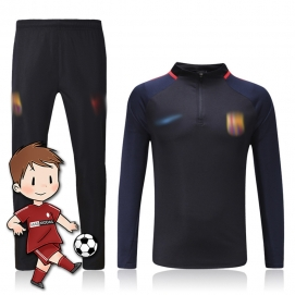 Chándal para Niños NK FC Barcelona Azul Marino 2017-2018