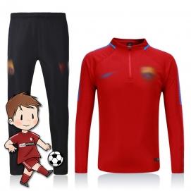 Chándal para Niños NK FC Barcelona Rojo 2017-2018