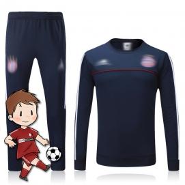 Chándal para Niños AD Bayern de Munich Azul Marino 2017-2018