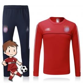 Chándal para Niños AD Bayern de Munich Rojo 2017-2018