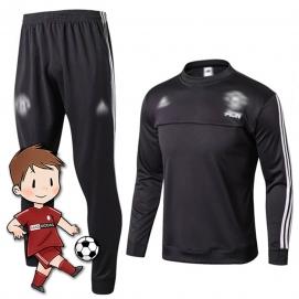 Chándal para Niños AD Manchester United FC Negro 2017-2018