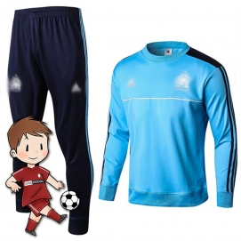 Chándal para Niños AD Olympique de Marsella Celeste 2017-2018