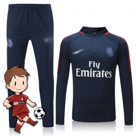Chándal para Niños NK París Saint-Germain FC Azul Marino 2017-2018