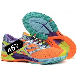 Zapatillas ASC Gel Nosa Tri10 Naranja y Violeta