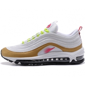 Zapatillas NK Air max 97 OG Blanco y Ocre