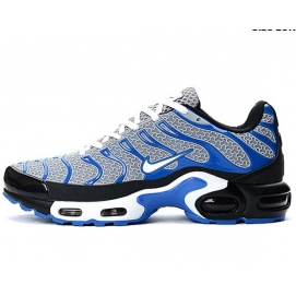 Zapatillas NK Air max TN KPU Blanco, Negro y Azul
