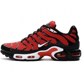 Zapatillas NK Air max TN KPU Rojo y Negro