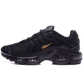 Zapatillas NK Air max TN Negro (Logo Dorado)