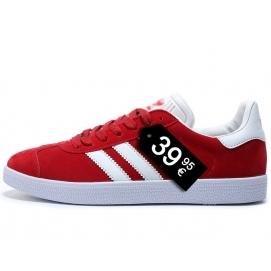 Zapatillas AD Gazelle Rojo Oscuro