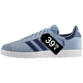 Zapatillas AD Gazelle Azul Claro y Azul Marino