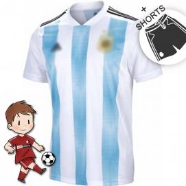Equipación AD Argentina Mundial Niños 2018
