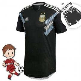 2ª Equipación AD Argentina Mundial Niños 2018